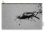 Cedar Waxwing - Bird - Enhanced Carry-all Pouch