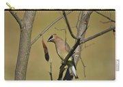 Cedar Waxwing - 2491 Carry-all Pouch
