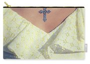 Celctic Cross Carry-all Pouch by Joana Kruse