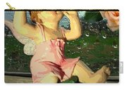 Celebrate The Rain With Roses 2 Carry-all Pouch