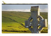Celtic Cross In A Cemetery Carry-all Pouch