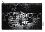 Cemetary At Night Carry-all Pouch