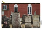 Cemetery And Church Carry-all Pouch