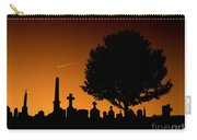 Cemetery And Tree Carry-all Pouch