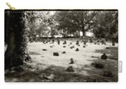 Cemetery At Mud Meeting House Carry-all Pouch by Mark Jordan