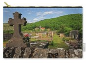 Cemetery In France Carry-all Pouch