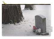 Cemetery In Winter Carry-all Pouch