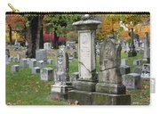 Cemtery Cracked Tombstones Carry-all Pouch