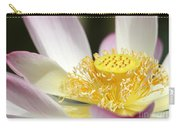 Center Of A Lotus Carry-all Pouch