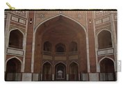 Central Cross Section Of Humayun Tomb In Delhi Carry-all Pouch