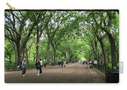 Central Park Arbor Walk Spring Carry-all Pouch