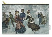 Central Park, Nyc, 1877 Carry-all Pouch