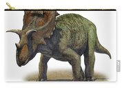 Ceratops Montanus, A Prehistoric Era Carry-all Pouch