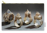 Ceremonial Marriage Rings Carry-all Pouch
