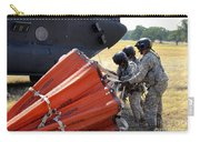 Ch-47 Chinook Helicopter Crew Prepare Carry-all Pouch