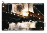 Chain Bridge At Night Carry-all Pouch
