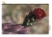 Chain Cholla Cactus Bloom Carry-all Pouch