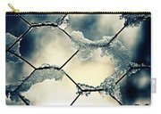 Chainlink Fence Carry-all Pouch by Joana Kruse