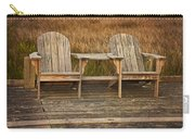 Wooden Chairs Carry-all Pouch
