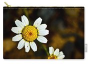 Chamomile Flower In Decay Carry-all Pouch
