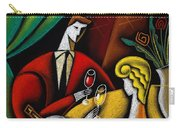 Champagne And Love Carry-all Pouch by Leon Zernitsky