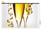 Champagne Glasses Carry-all Pouch by Elena Elisseeva