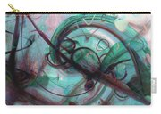 Chaos Carry-all Pouch by Linda Sannuti