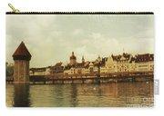 Chapel Bridge Lucerne Switzerland Carry-all Pouch