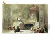Chapel Of The Annunciation Nazareth Carry-all Pouch