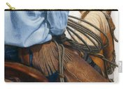 Chaps Carry-all Pouch by Pat Erickson