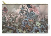 Charge Of The 54th Massachusetts Carry-all Pouch by Photo Researchers
