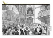 Charity Ball, 1880 Carry-all Pouch by Granger