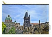 Charles Bridge And Church Dome Carry-all Pouch