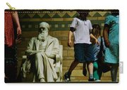 Charles Darwin At The British Museum Carry-all Pouch