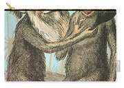 Charles Darwin Caricature, 1874 Carry-all Pouch
