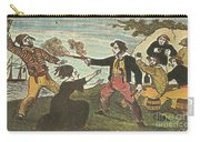 Charles Gibbs, American Pirate Carry-all Pouch by Photo Researchers