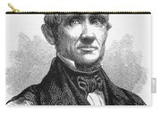 Charles Goodyear /n(1800-1860). American Inventor. Line Engraving, 19th Century Carry-all Pouch