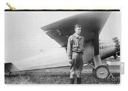 Charles Lindbergh American Aviator Carry-all Pouch by Photo Researchers