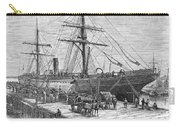 Charleston: Cotton Ship Carry-all Pouch