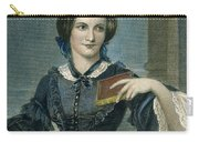 Charlotte Bronte Carry-all Pouch by Granger