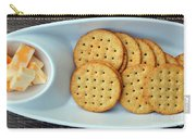 Cheese And Crackers Carry-all Pouch