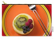 Cheesecake On Plate Carry-all Pouch