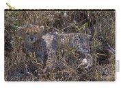 Cheetah Kitten Carry-all Pouch