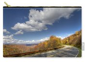 Cherohala Skyway Carry-all Pouch by Debra and Dave Vanderlaan