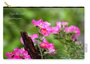 Cherokee Rose Card - Flower Carry-all Pouch