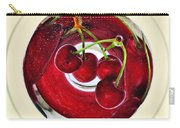 Cherries In A Wine Glass Carry-all Pouch