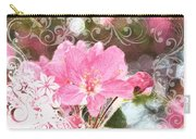Cherry Blossom Art With Decorations Carry-all Pouch