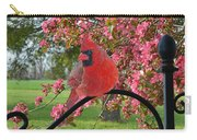 Cherry Blossom Cardinal  Carry-all Pouch