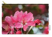 Cherry Blossom Greeting Card Blank With Decorations Carry-all Pouch