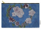 Cherry Blossom Heart Carry-all Pouch